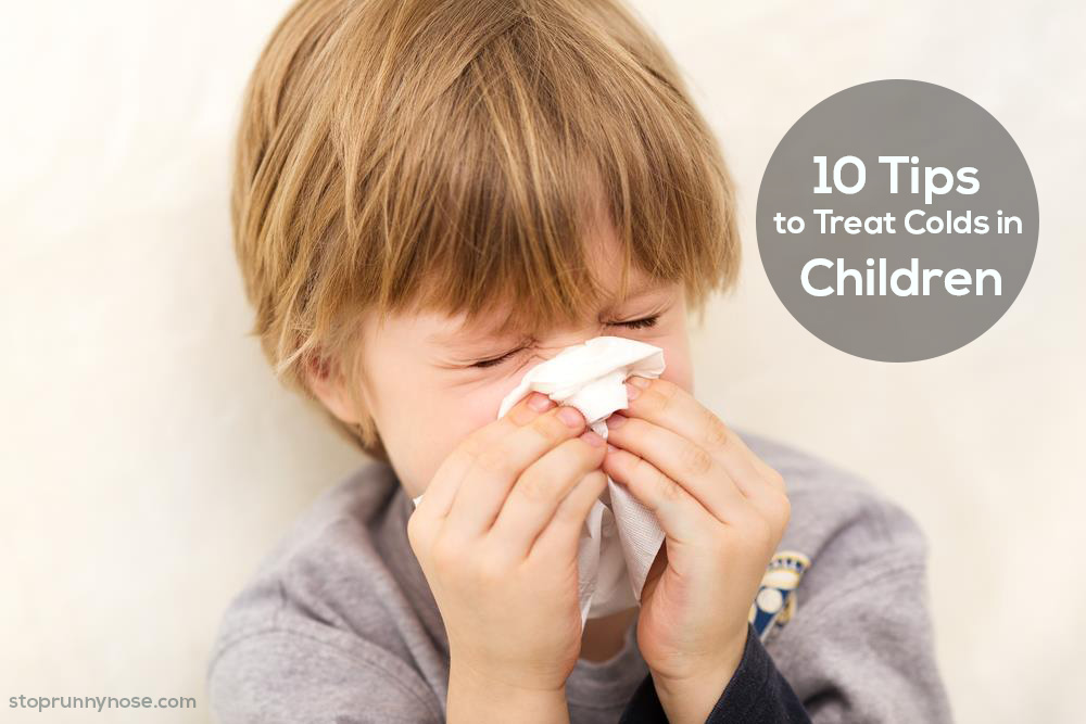 10 Tips to Treat Colds in Children