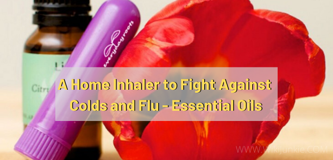 Photo of A Home Inhaler to Fight Against Colds and Flu – Essential Oils