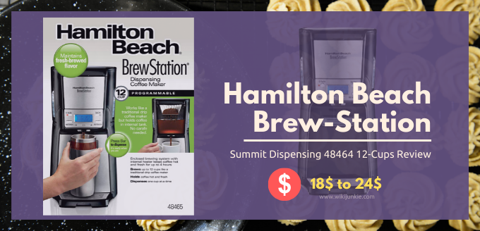 Hamilton Beach Brew-Station Summit Dispensing 48464 12-Cups Review