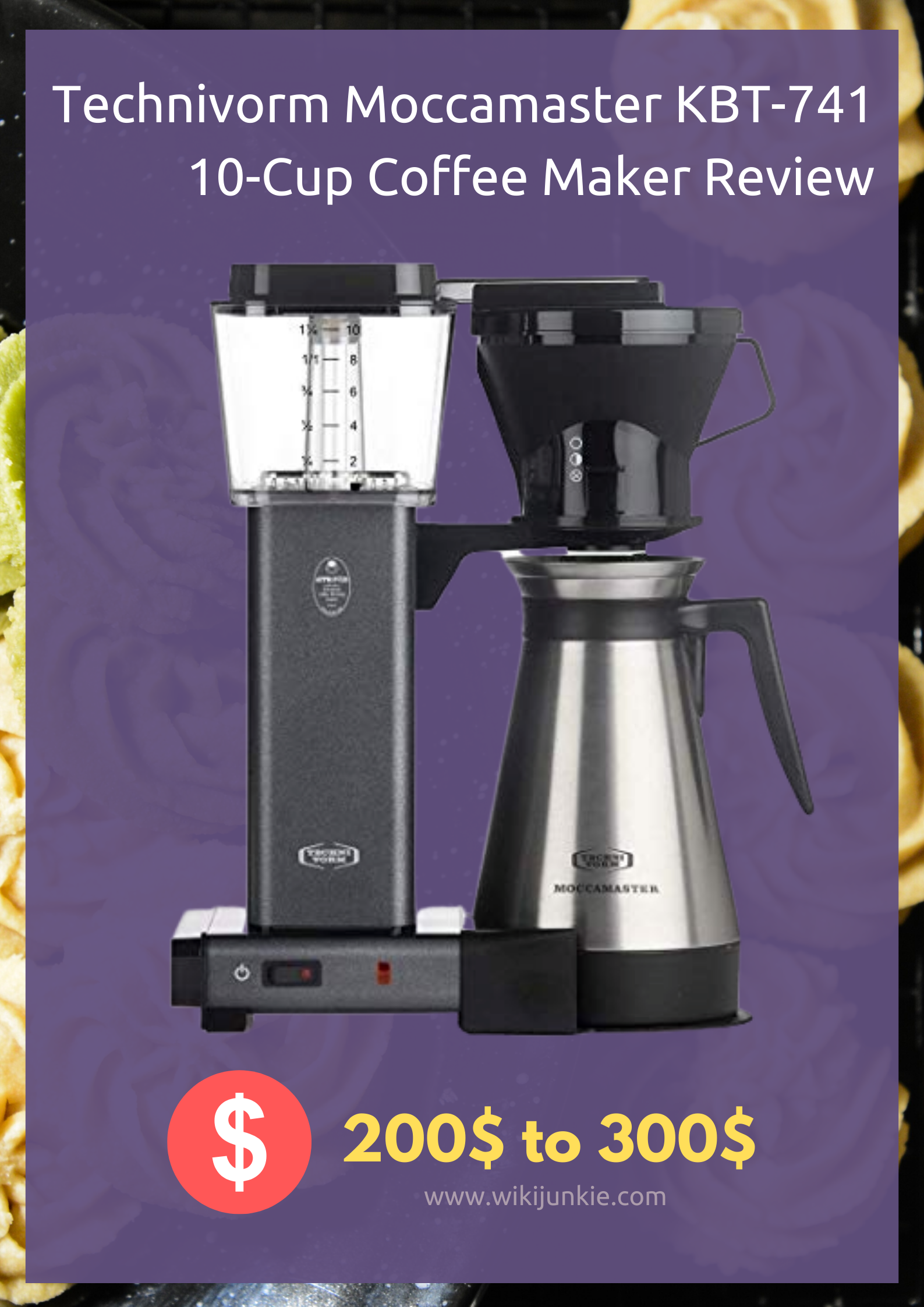 Technivorm Moccamaster KBT-741 10-Cup Coffee Maker Review