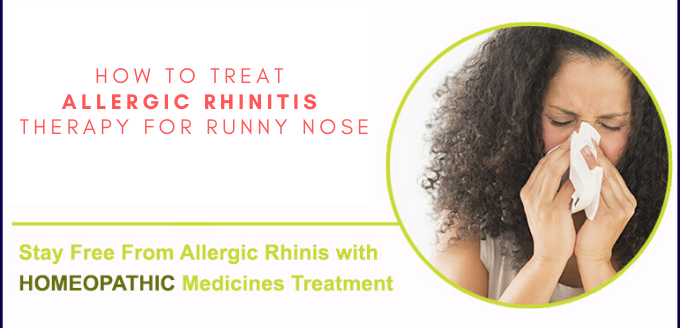 Photo of How to Treat Allergic Rhinitis Therapy for Runny Nose