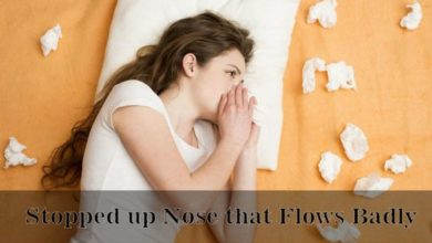 Photo of Stopped Up Nose that Flows Badly