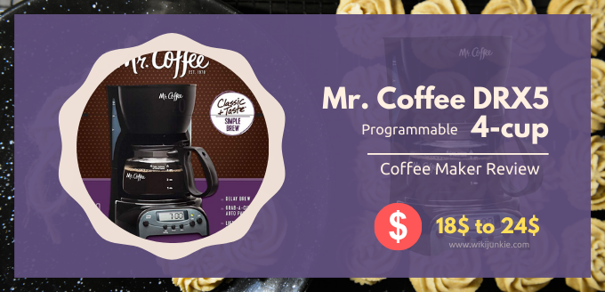 Photo of Mr. Coffee DRX5 4-cup Programmable Coffeemaker Review